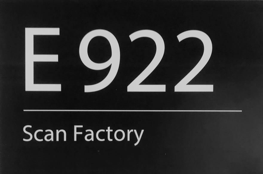 AZ Groeninge Scan Factory - Medical Archives & Patient Archives Department Sign