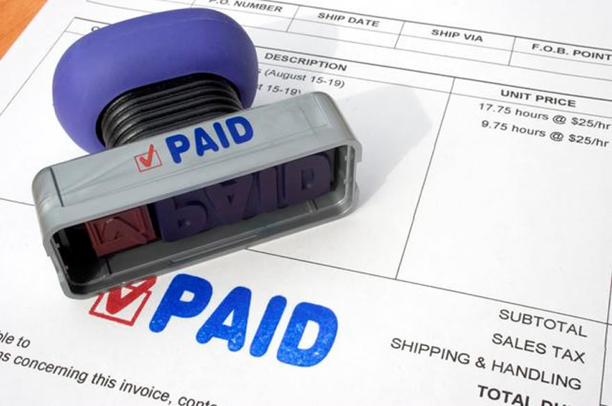 automatic processing and approval of purchase invoices