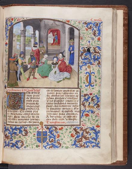 Scanned Page from Manuscript - Valerius Maximus, Facta et dicta memorabilia (15th Century)