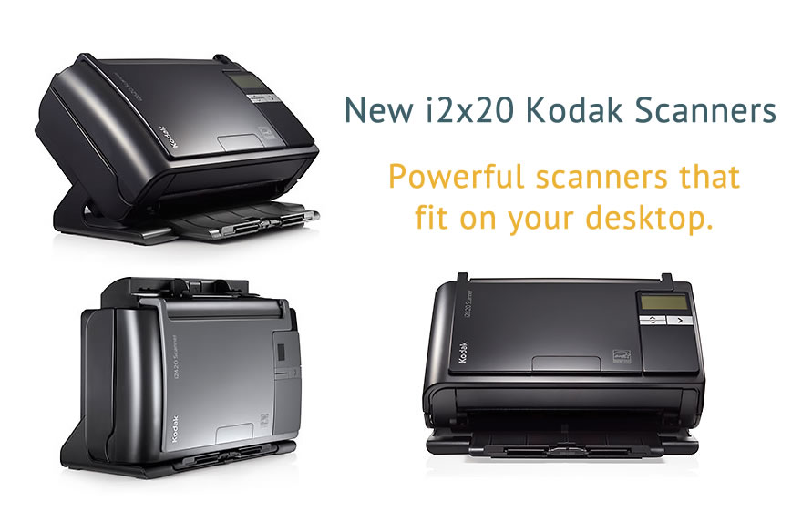 New i2x20 Kodak Scanners