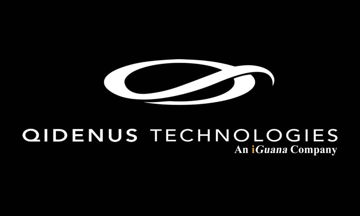 Qidenus Technologies Logo, Qidenus Technologies is an iGuana Company