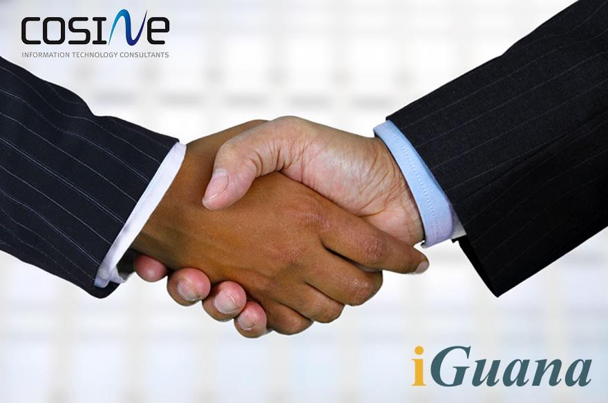 iGuana and Cosine Partnership