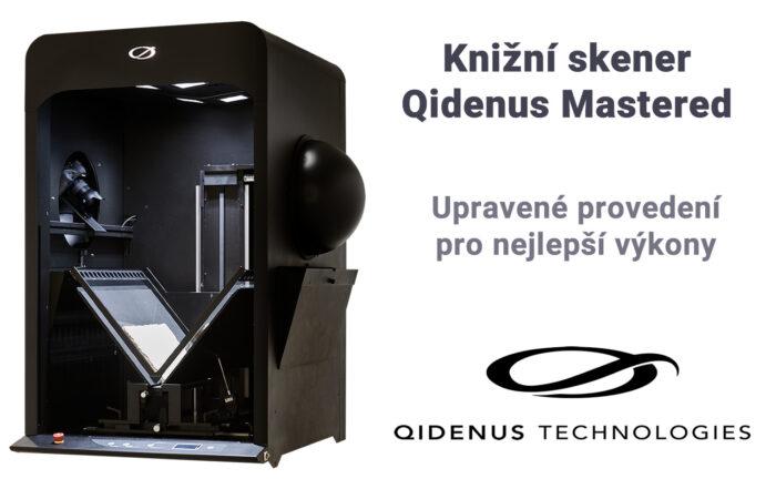 iGuana - Knižní skener Qidenus Mastered (ultrarychlý, v upraveném provedení pro nejlepší výkony)