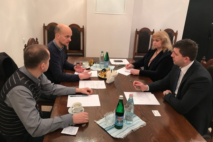 iGuana Meets with State Archival Service of Ukraine (March 2020) - Укрдержархів