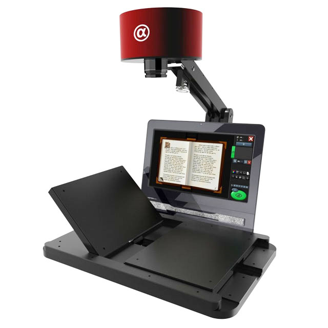 iGuana - Metis EDS Alpha Planetary Book Scanner