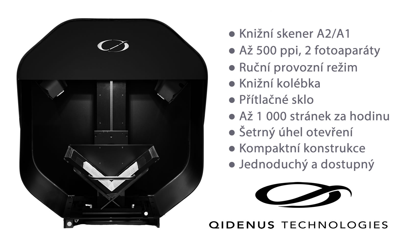 iGuana - New Qidenus Smart Book Scanner (Powered by iGuana)