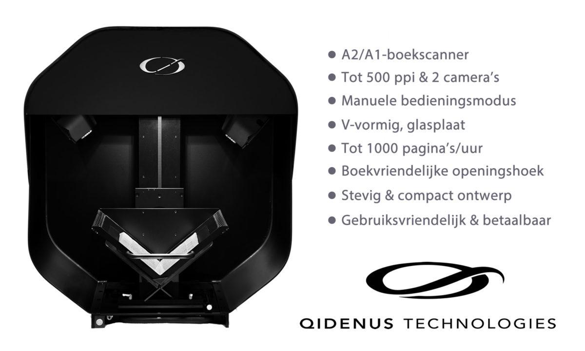 iGuana - Nieuwe Qidenus Smart Book Scanner (boekscanner geoptimaliseerd door iGuana)