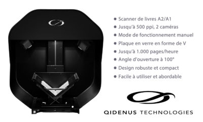 iGuana - Nouveau scanner de livres Qidenus Smart (optimisé par iGuana)