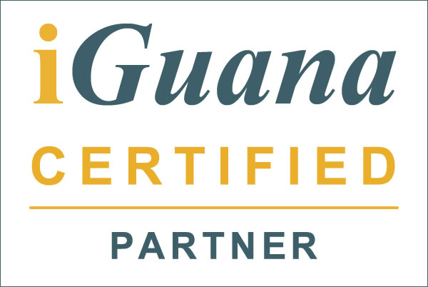 Certified Partner Logo of Partner Programme for iGuana iDM Document Management Software (DMS)