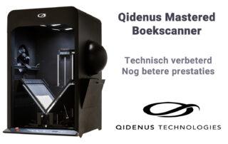 iGuana - Qidenus Mastered boekscanner (technisch verbeterd, nog betere prestaties)