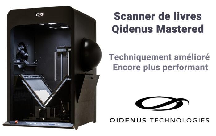 iGuana - Scanner de livres Qidenus Mastered (ultra-rapide, encore plus performant)